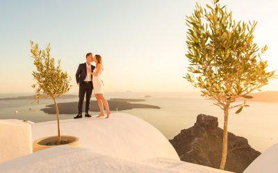 Top Wedding Proposal Spots in Santorini
