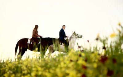 A Romantic Spring Anniversary in Santorini