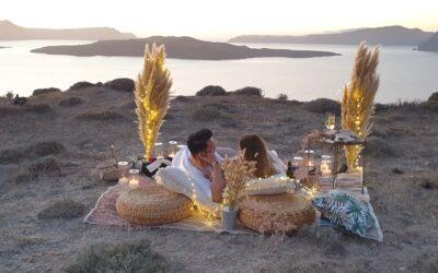 A Boho Chic Wedding Proposal In Santorini